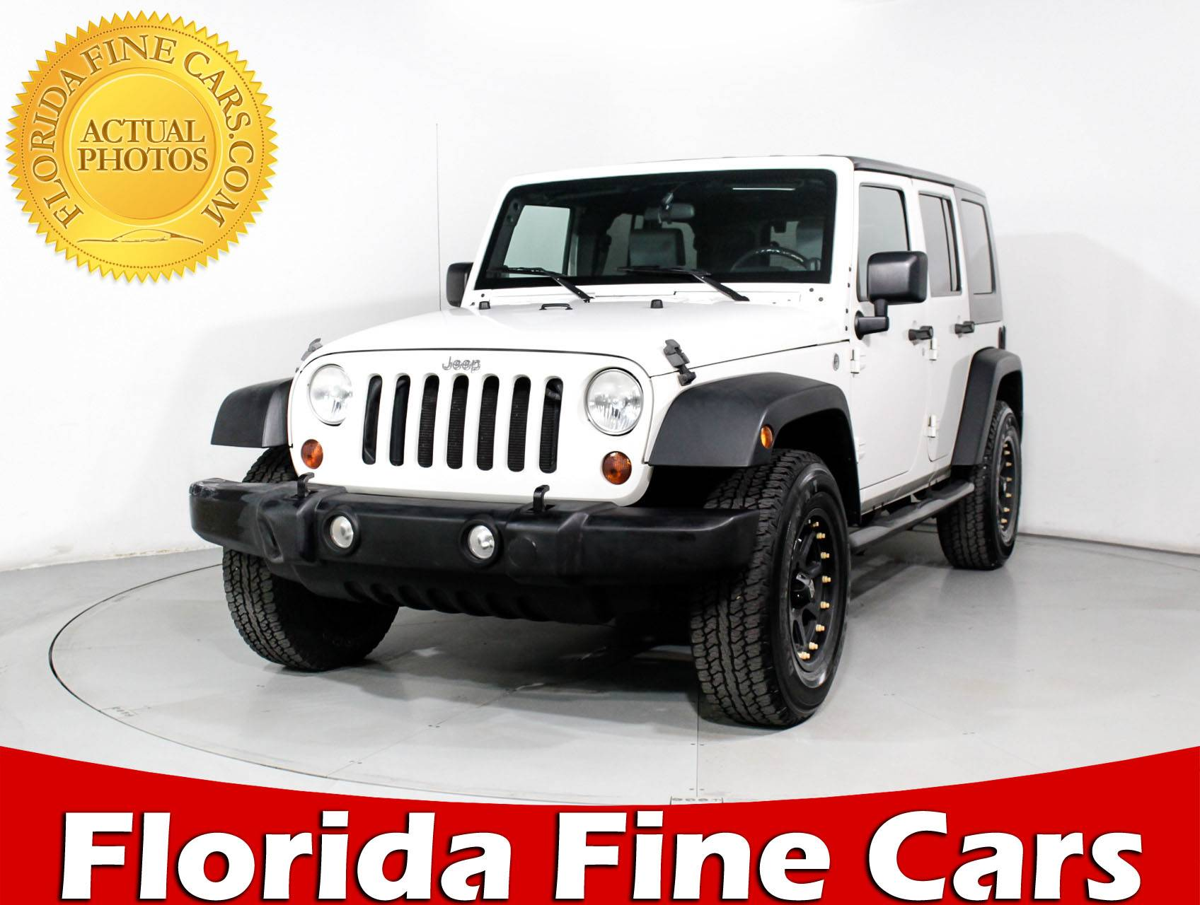 Used 2010 JEEP WRANGLER UNLIMITED SPORT SUV For Sale In MIAMI, FL | 90037 |  Florida Fine Cars