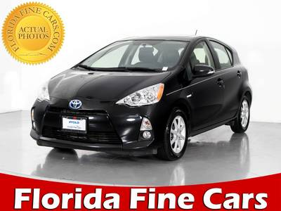 Used TOYOTA PRIUS-C 2013 WEST PALM FOUR