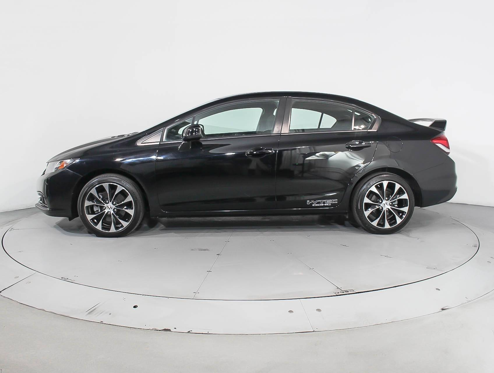 Used 2013 Honda Civic Si Sedan For Sale In Miami Fl 90073