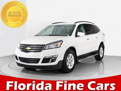 Used CHEVROLET TRAVERSE 2014 WEST PALM 2LT