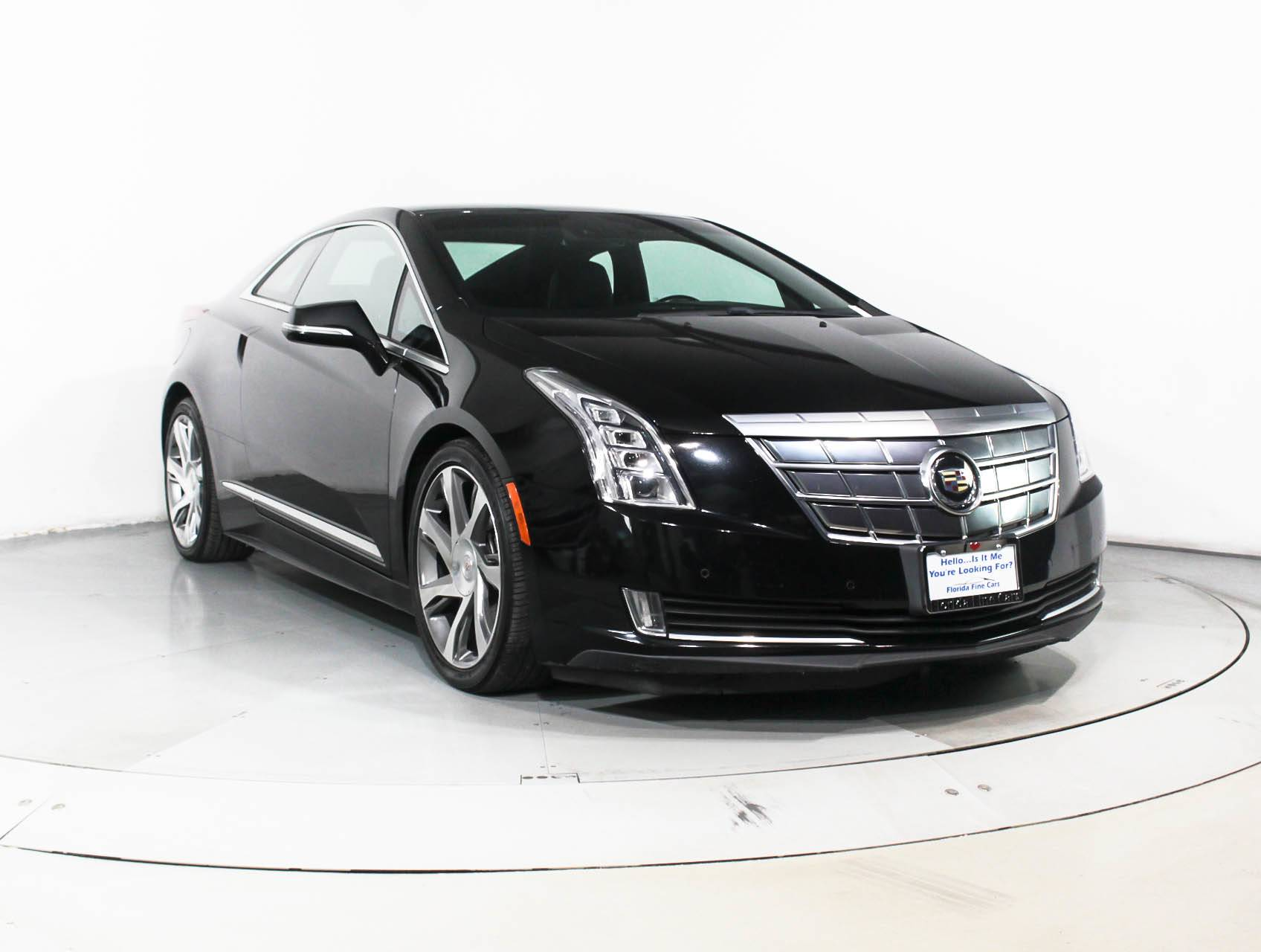 used 2014 cadillac elr coupe for sale in hollywood fl 90114 florida fine cars. Black Bedroom Furniture Sets. Home Design Ideas