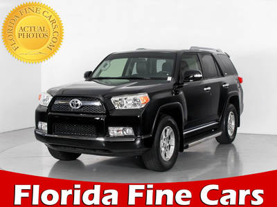 Used TOYOTA 4RUNNER 2013 WEST PALM SR5