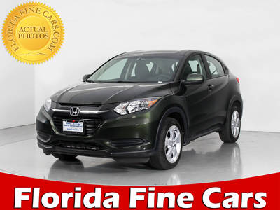 Used HONDA HR-V 2016 WEST PALM LX