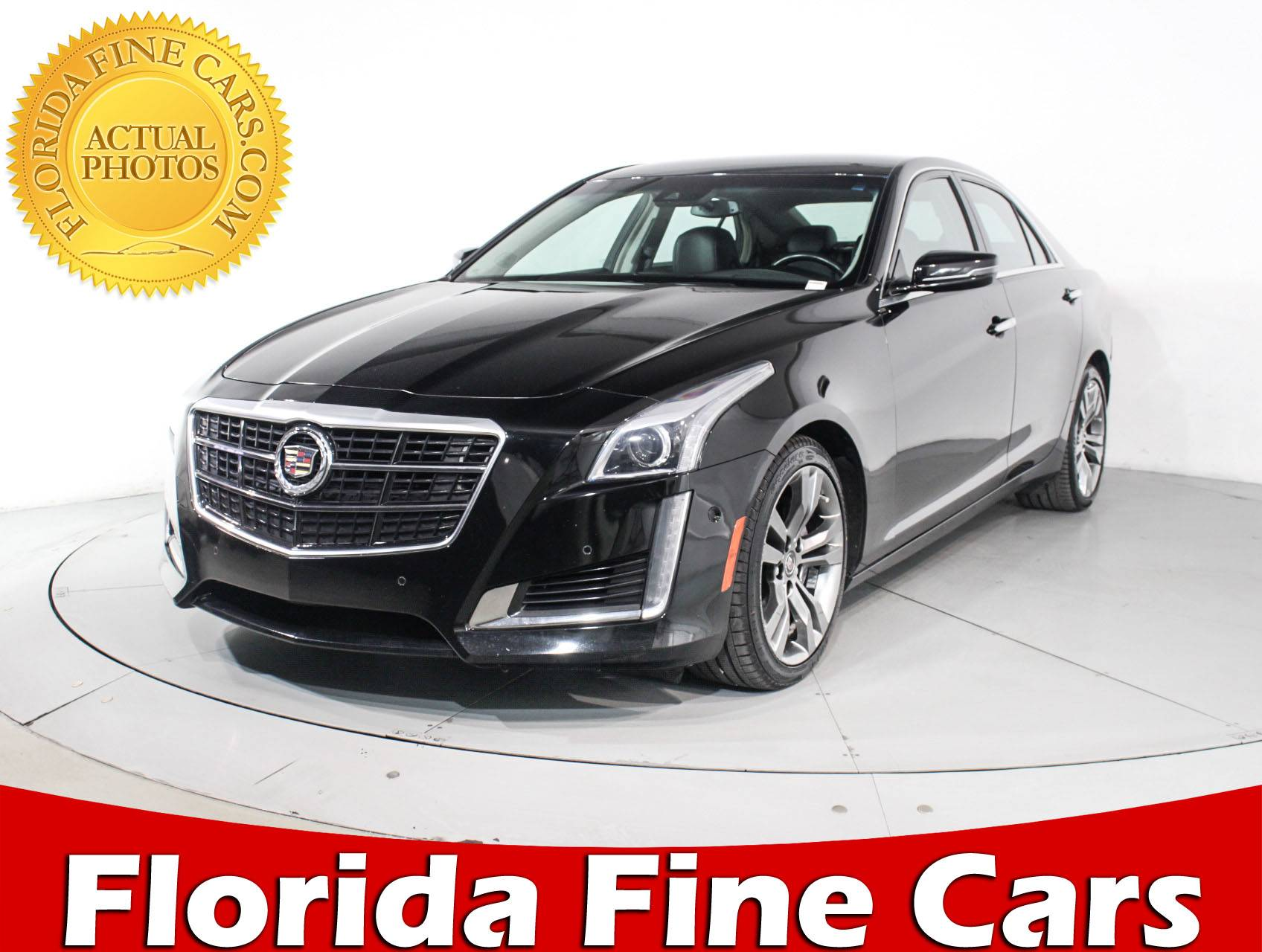 used 2014 cadillac cts vsport performance sedan for sale in margate fl 90180 florida fine cars. Black Bedroom Furniture Sets. Home Design Ideas