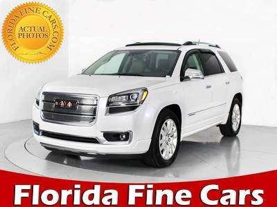 Used GMC ACADIA 2016 WEST PALM DENALI