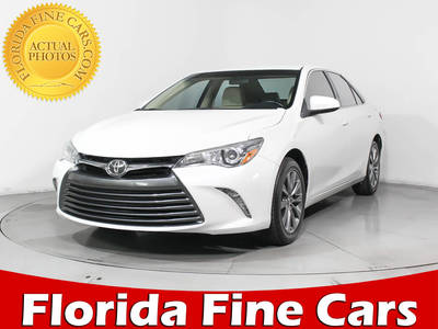 Used TOYOTA CAMRY 2015 MIAMI Xle