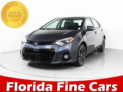 Used TOYOTA COROLLA 2015 HOLLYWOOD S Plus