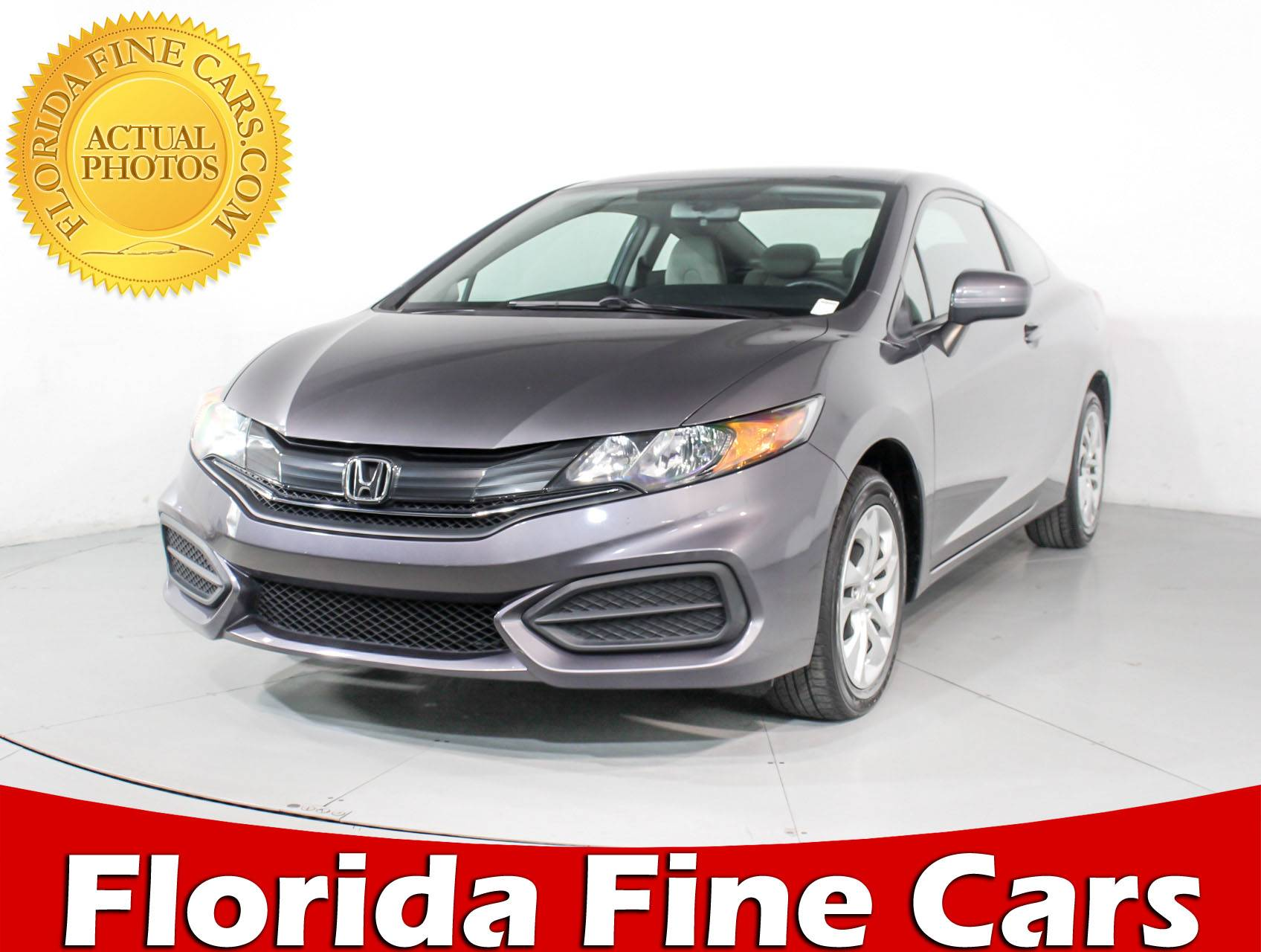2013 Honda Civic For Sale Carsforsale Com >> Used 2015 HONDA CIVIC LX Coupe for sale in HOLLYWOOD, FL ...