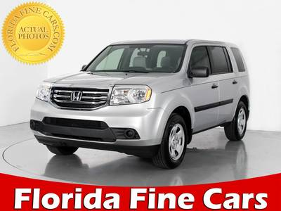 Used HONDA PILOT 2015 WEST PALM LX