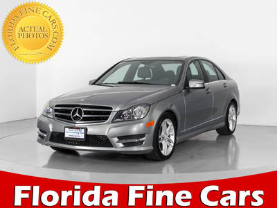 Used MERCEDES-BENZ C-CLASS 2014 HOLLYWOOD C300 4MATIC
