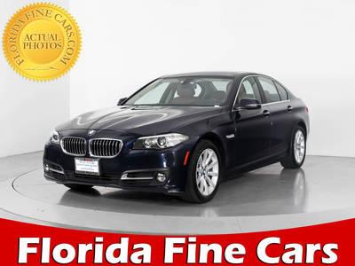 Used BMW 5-SERIES 2015 WEST PALM 535I XDRIVE