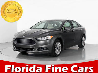 Used FORD FUSION 2016 WEST PALM TITANIUM