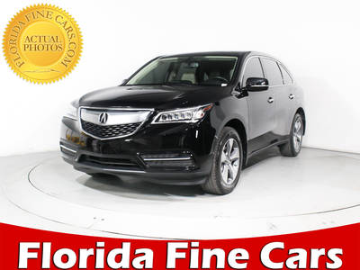 Used ACURA MDX 2015 MIAMI