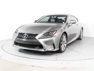 Used LEXUS RC-350 2015 HOLLYWOOD
