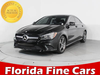 Used MERCEDES-BENZ CLA-CLASS 2014 WEST PALM CLA250 4MATIC