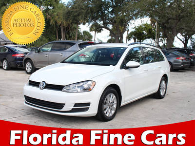 Used VOLKSWAGEN GOLF-SPORTWAGEN 2015 WEST PALM SPORTWAGEN TSI S