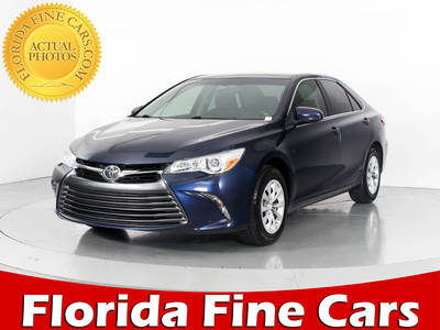 Used TOYOTA CAMRY 2015 WEST PALM Le