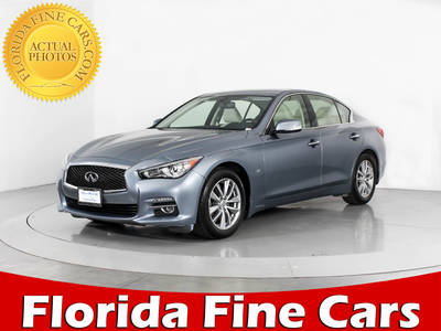Used INFINITI Q50 2014 WEST PALM Premium Awd