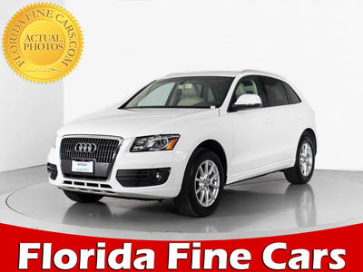 Used AUDI Q5 2012 WEST PALM PREMIUM PLUS