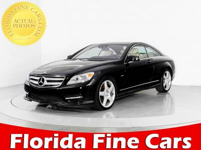 Used MERCEDES-BENZ CL-CLASS 2012 WEST PALM CL550 4MATIC