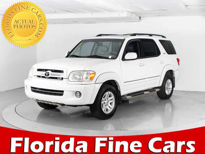 Used TOYOTA SEQUOIA 2006 WEST PALM SR5