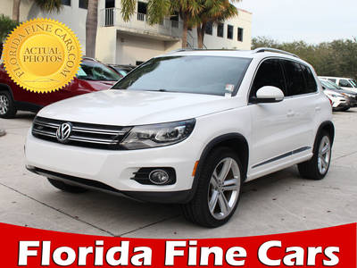 Used VOLKSWAGEN TIGUAN 2014 WEST PALM R-Line