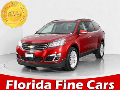 Used CHEVROLET TRAVERSE 2014 WEST PALM 1LT