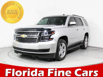 Used CHEVROLET TAHOE 2015 MARGATE LT