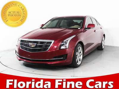 Used CADILLAC ATS 2015 HOLLYWOOD LUXURY