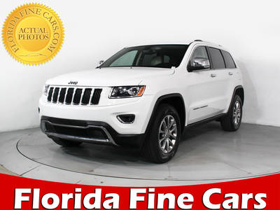 Used JEEP GRAND-CHEROKEE 2014 HOLLYWOOD LIMITED