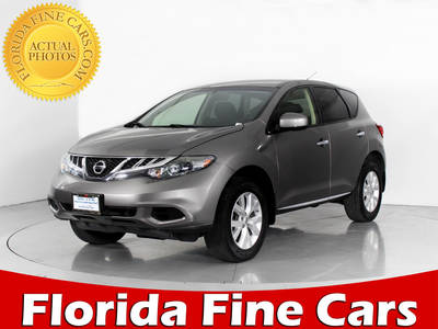 Used NISSAN MURANO 2012 WEST PALM S Awd