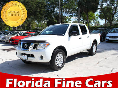 Used NISSAN FRONTIER 2016 WEST PALM Sv 4wd