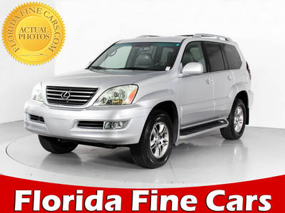 Used LEXUS GX-470 2008 MARGATE Awd