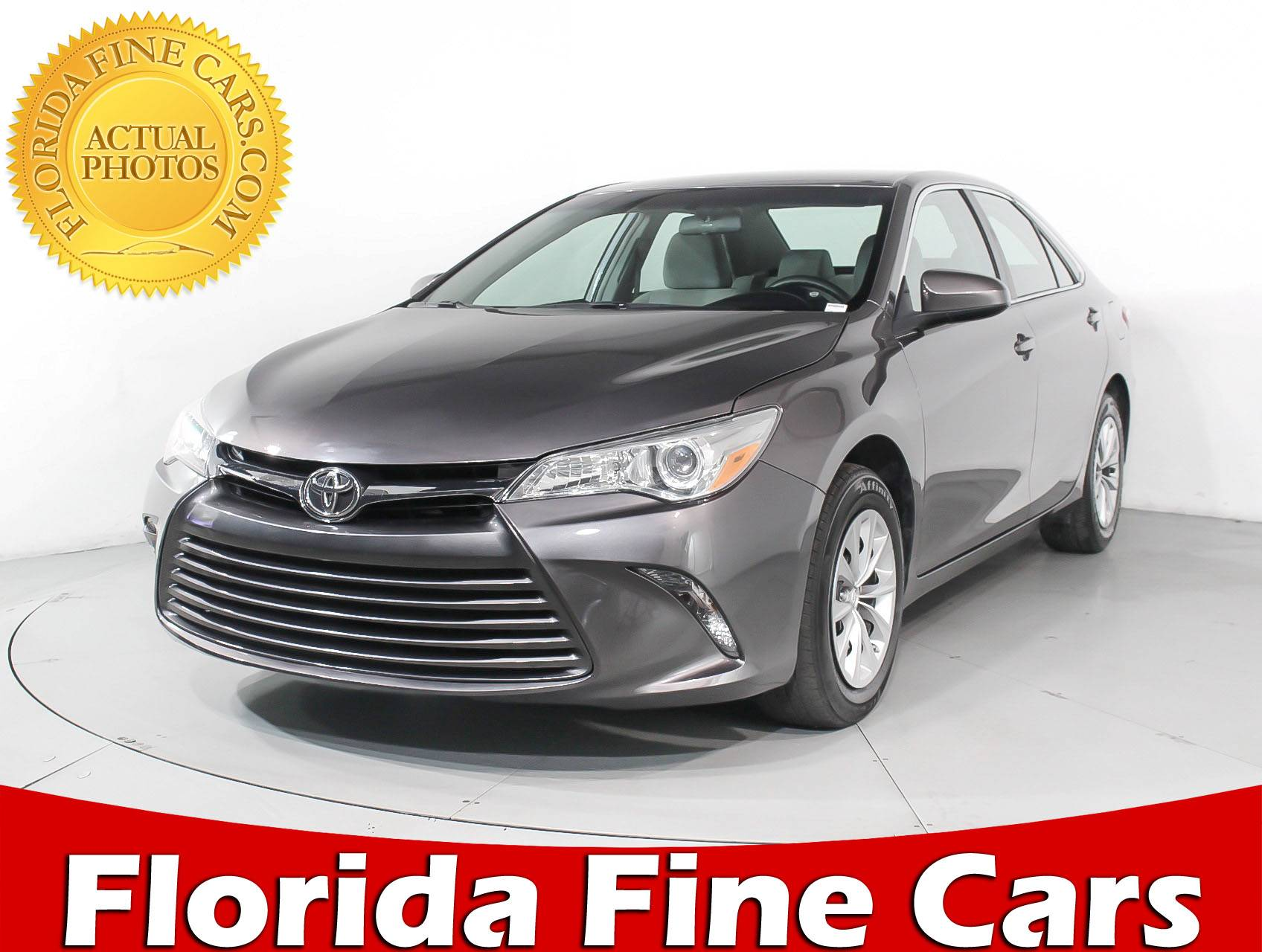 Used 2015 TOYOTA CAMRY Le Sedan for sale in MARGATE FL