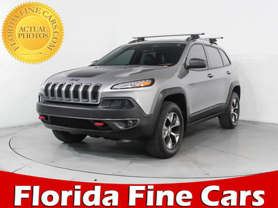 Used JEEP CHEROKEE 2014 MIAMI Trailhawk 4x4