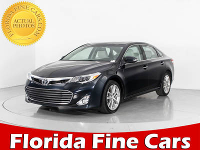 Used TOYOTA AVALON 2015 WEST PALM Xle Touring
