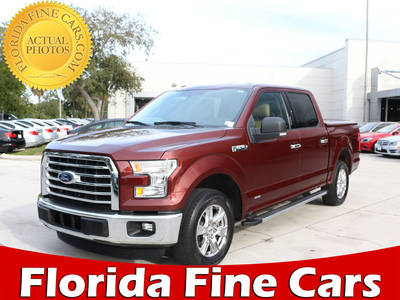 Used FORD F-150 2015 WEST PALM Xlt