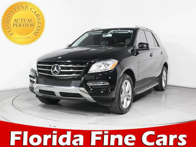 Used MERCEDES-BENZ M-CLASS 2015 MIAMI ML350