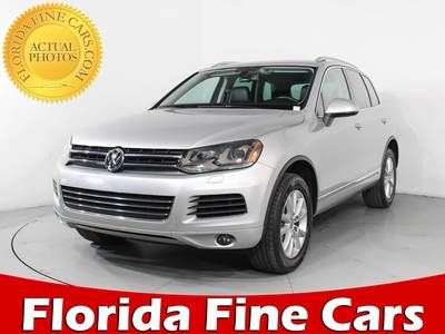 Used VOLKSWAGEN TOUAREG 2013 WEST PALM Vr6 Fsi Sport Awd