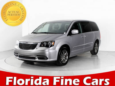 Used CHRYSLER TOWN-AND-COUNTRY 2014 WEST PALM S
