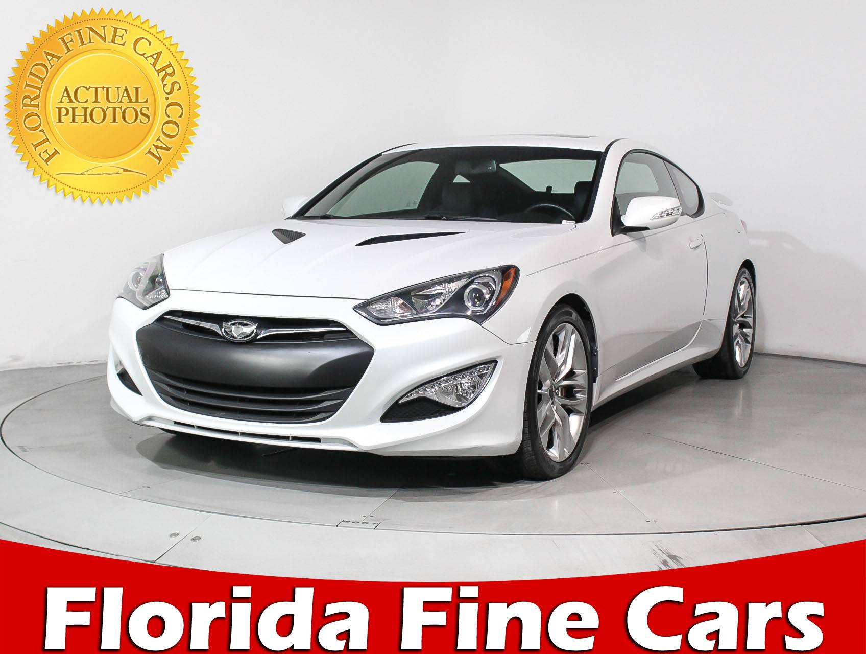 Used 2013 HYUNDAI GENESIS COUPE Track Sedan for sale in MIAMI, FL ...