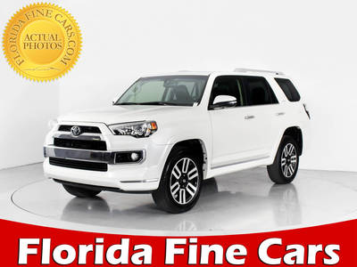 Used TOYOTA 4RUNNER 2016 WEST PALM Limited 4x4