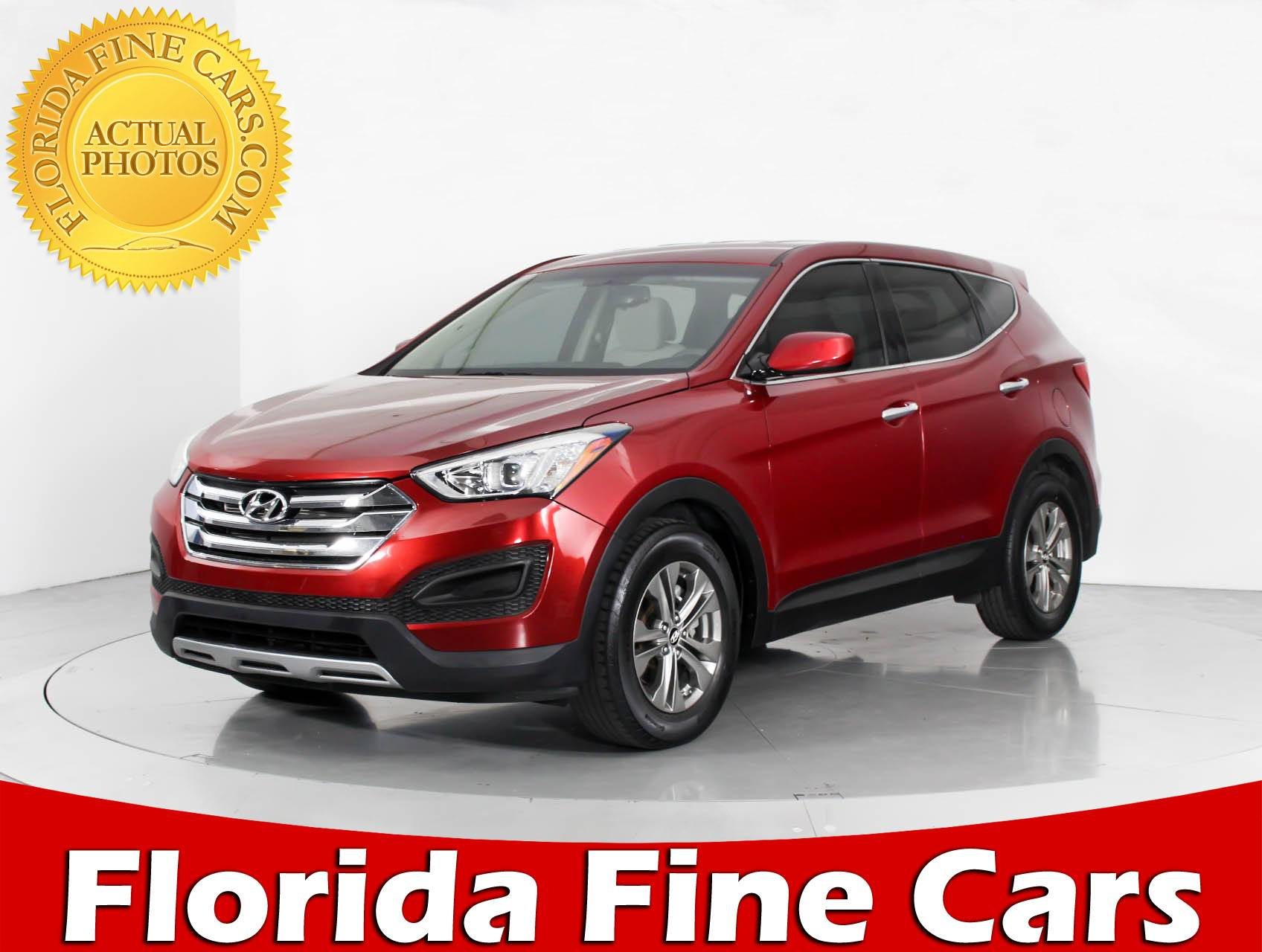 Used 2014 HYUNDAI SANTA FE SPORT SUV for sale in MIAMI FL