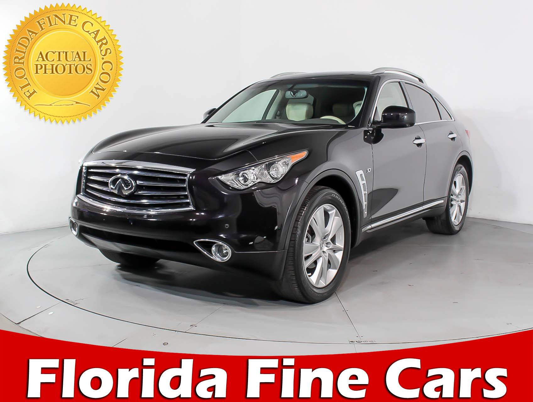 used 2015 infiniti qx70 suv for sale in miami fl 90726 florida fine cars. Black Bedroom Furniture Sets. Home Design Ideas