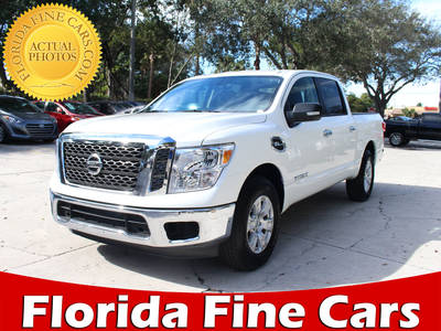 Used NISSAN TITAN 2017 WEST PALM Sv Crew