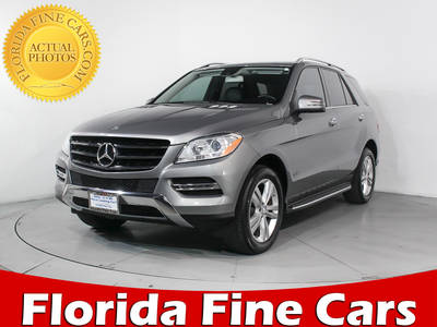 Used MERCEDES-BENZ M-CLASS 2014 MIAMI ML350 4MATIC