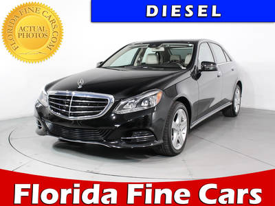 Used MERCEDES-BENZ E-CLASS 2014 MIAMI E250 BLUETEC