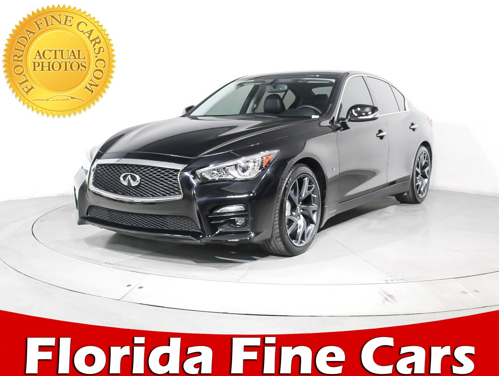 Used Infiniti Q50 For Sale In Miami >> Used 2015 INFINITI Q50 Performance Pkg Sport