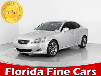 Used LEXUS IS-250 2008 WEST PALM
