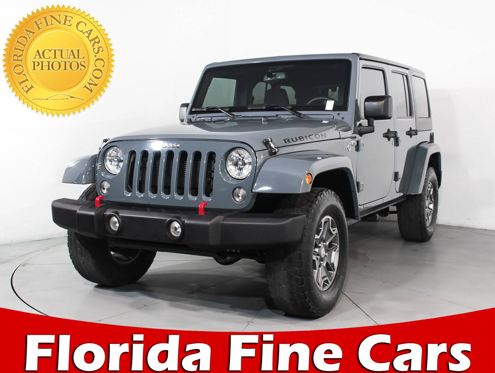 Used 2015 JEEP WRANGLER UNLIMITED RUBICON SUV for sale in MIAMI FL